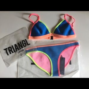 Triangl Dolly Roller Disco swimsuit